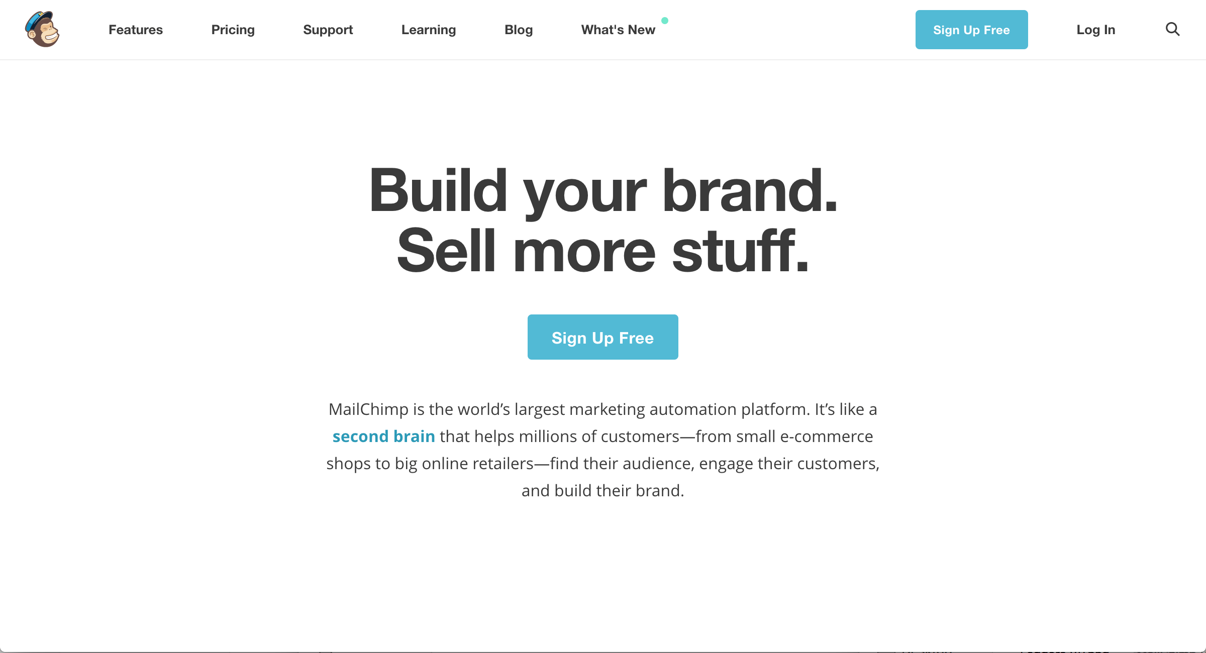 Mailchimp Value Proposition